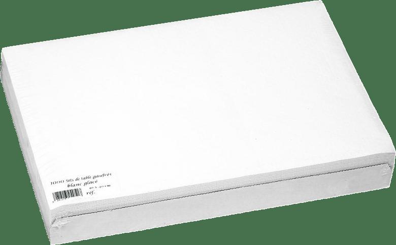 Sets et nappes en papier